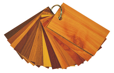 wood finishes for retractable screens