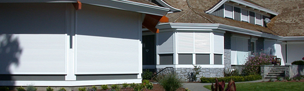 residential exterior roll shutters